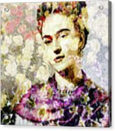 Floral Frida Vii Acrylic Print
