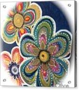 Floral Fun Acrylic Print