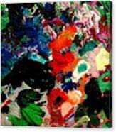 Floral Garden Acrylic Print