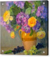 Floral Melody Acrylic Print
