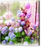Floral Merge 11 Acrylic Print
