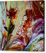 Floral Miracle Acrylic Print