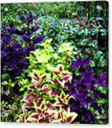 Floral Print 005 Acrylic Print