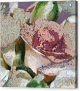 Floral Sand Acrylic Print