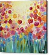 Floral Splendor II Acrylic Print