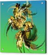 Floral Still Life Fantasy Acrylic Print