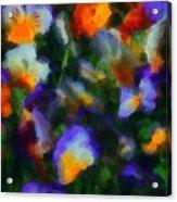 Floral Study 053010a Acrylic Print