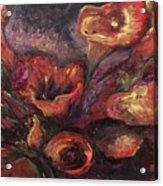 Floral Sun Worship Acrylic Print