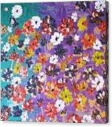 Floral Theme Acrylic Print
