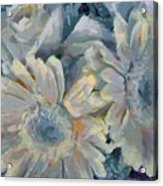 Floral Vegged Out Wow Acrylic Print