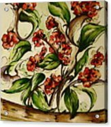 Floral Wisp Acrylic Print