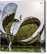 Floralis Generica, Buenos Aires, Argentina Acrylic Print