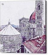Florence - 19 Acrylic Print