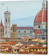 Florence And The Roofs Acrylic Print
