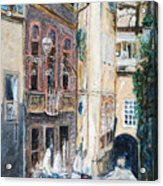 Florence Archway Acrylic Print