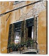 Florence Balcony Acrylic Print
