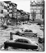 Florence: Flood, 1966 Acrylic Print