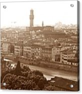 Florence Italy Wide Acrylic Print