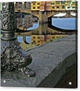 Florence The Old Bridge Acrylic Print