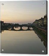 Florence, Tuscany, Italy, Sunset Acrylic Print