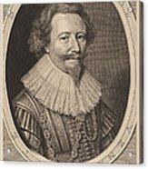 Florent II, Count Of Pallandt Acrylic Print