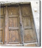 Florentine Door 4 Acrylic Print