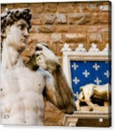 Florentine Icons Acrylic Print