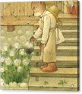 Florentius The Gardener Acrylic Print
