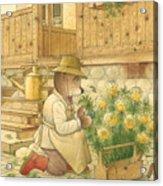 Florentius The Gardener04 Acrylic Print