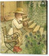 Florentius The Gardener20 Acrylic Print