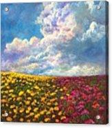 Flores De Mexico Acrylic Print
