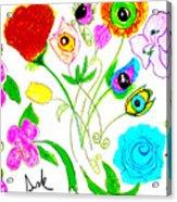 Flores De Primavera  Acrylic Print