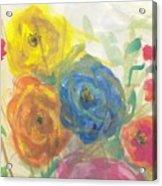 Flores Acrylic Print