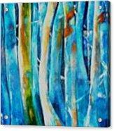 Floresta Azul Acrylic Print