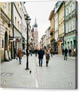 Florianska Krakow Acrylic Print
