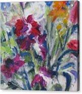 Floribunda Bouquet Acrylic Print
