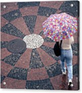 Florida - Umbrellas Series 1 Acrylic Print