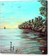 Florida Bay's Elliot Key Acrylic Print