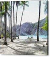 Florida Beach Acrylic Print