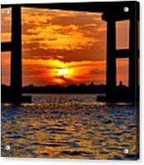 Florida Before Sunset  Acrylic Print