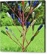 Florida Bottle Tree Acrylic Print
