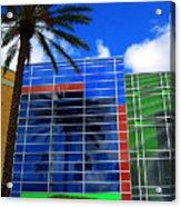 Florida Colors Acrylic Print