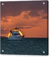 Florida Eclipse Acrylic Print