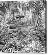 Florida Garden Scene_009 Acrylic Print