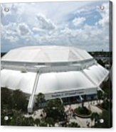 Florida Gators Stephen C. O'connell Center Acrylic Print by Replay Photos