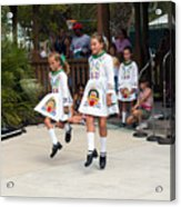 Florida Irish Dancers Acrylic Print