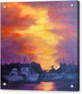 Florida Keyes Sunset Acrylic Print