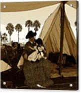 Florida Pioneers 1800s Acrylic Print