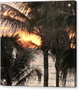 Florida Sunset 2 Acrylic Print