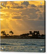 Florida Sunset-3 Acrylic Print